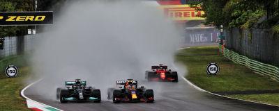 Max Verstappen mot Lewis Hamilton.