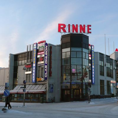 Kauppakeskus Rinteenkulma Rovaniemellä