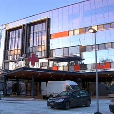 Den nya Y-byggnaden vid Vasa centralsjukhus
