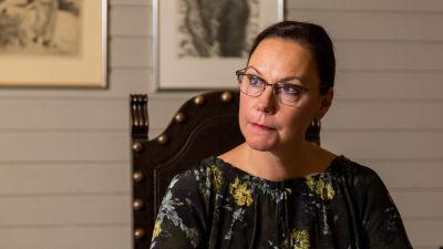 Ulkomaankauppa- ja kehitysministeri Anne-Mari Virolainen.