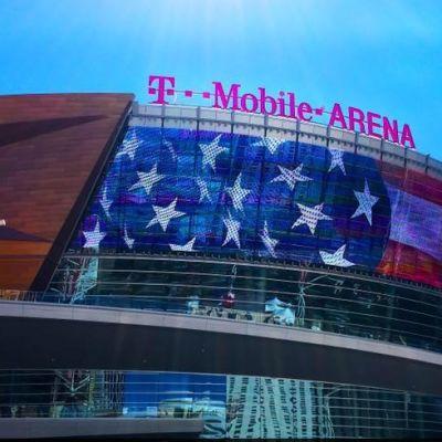 Las Vegas pelaa NHL-ottelunsa kaudella 2017-18 tässä hallissa
