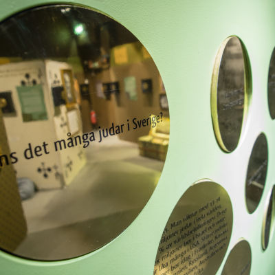 """Utställningen """"En svensk framgångssaga ..."""" på Judiska museet i Stockholm 2014-2015"""