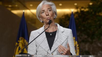 Christine Lagarde, direktör för Internationella valutafonden, meddelade att Ukraina beviljas ett stödpaket på över 12 miljoner euro.