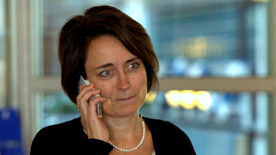 Catarina Fant, marknadsförings- och kommunikationsdirektör på Wasaline.