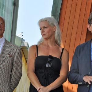 artisterna Loa Falkman, Malena Ehrnman, Niklas Strömstedt