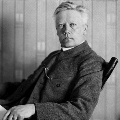 Herman Lundborg, chef för världens första rasbiologiska institut.