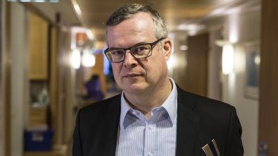 Lasse Lehtonen, direktör för diagnostiken, HUS