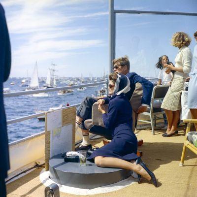 Jackie ja John F. Kennedy.