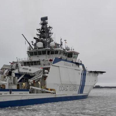 Gränsbevakningsfartyget Turva