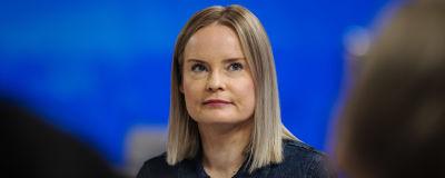 Perussuomalaisten varapuheenjohtaja Riikka Purra vieraili Ylen Ykkösaamussa 8. toukokuuta.