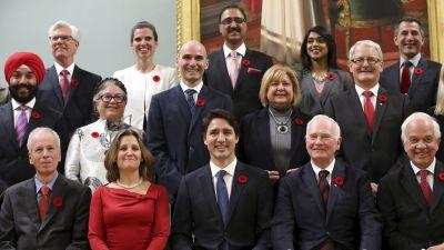 Kanadas nya regering.