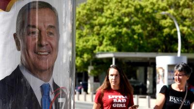 Milo Đukanović kan få en majoritet av rösterna i presidentvalet redan i första omgången, enligt opinionsmätningar