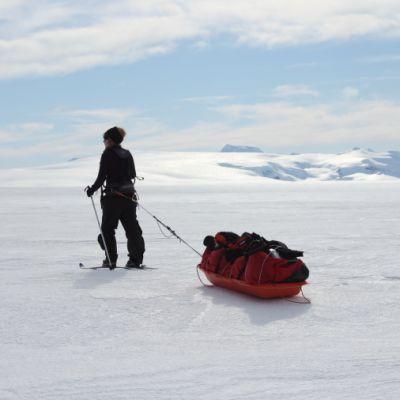 Suomalainen retkikunta ylitti Grönlannin toukokuussa