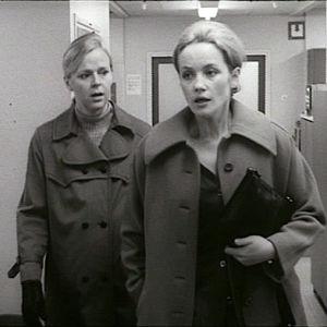Irma Martinkauppi ja Liisamaija Laaksonen elokuvassa Marja pieni!