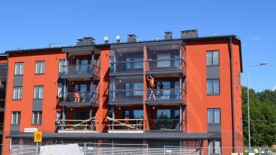 Nya hyreshus byggs i Sjundeå.