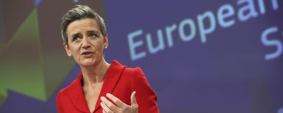 EU-kommissionens vice verkställande ordförande Margrethe Vestager.