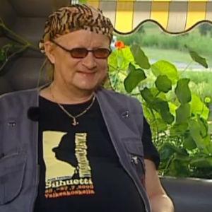Juice Leskinen Kesävieras-ohjelmassa 2003.