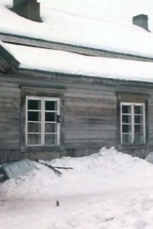 En bild på ett gammalt hus