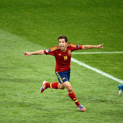 Jordi Alba Espanja Italia
