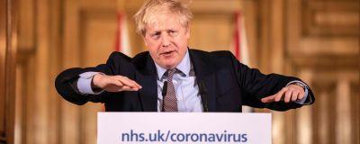 Storbritanniens premiärminister Boris Johnson