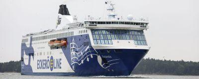 Eckerö Lines båt på havet.