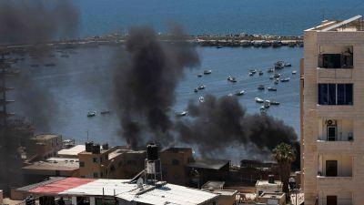 Israel bombar Gaza 14.5.2021