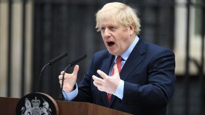 Boris Johnson 27.4.2020