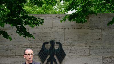 Tysklands utrikesminister Heiko Maas ber Namibia om förlåtelse för folkmord. Berlin 28.5.2021