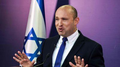 Naftali Bennett talade i knesset den 6 juni.