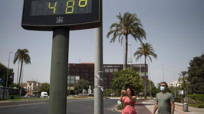 Varmt i Córdoba