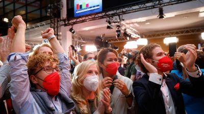 Socialdemokrater följer med valet 26.9.2021