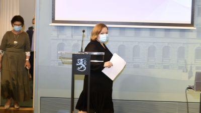 Familje- och omsorgsminister Krista Kiuru.