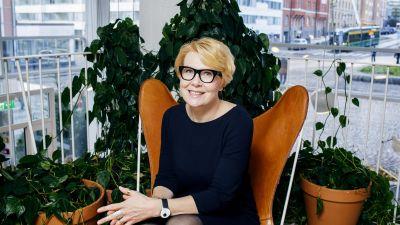 Kuvassa valtioneuvoston viestintäjohtaja Päivi Anttikoski.