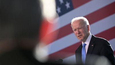 Joe Biden håller pressinfo efter mötet med Putin i Geneve