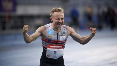 Joonas Rinne pinkoi Lahdessa ennätyksensä 1.45,96.
