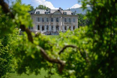 """Joe Biden och Vladimir Putin träffas i """"Villa La Grange"""" i Schweiz 16.6.2021"""