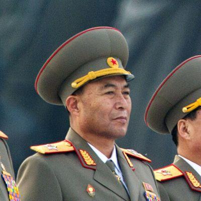 Pohjois-Korean armeijan komentaja Ri Yong-Ho.