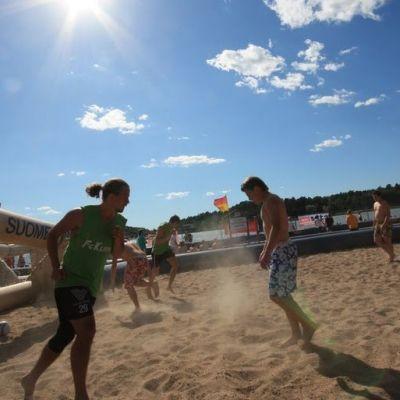 BeachFutis käynnissä