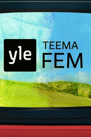 Tv med logo för Yle Teema & Fem