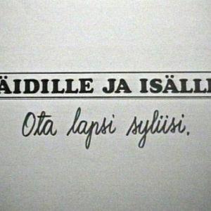 Ote Hyrrä-ohjelmasta (1973).