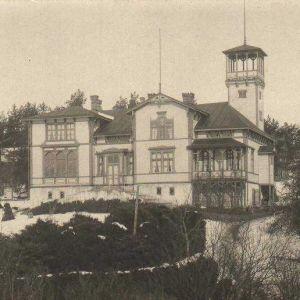 Skinnarviks herrgård från 1900.