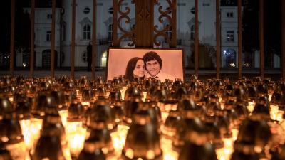 Den slovakiska journalisten Ján Kuciak som mördades år 2018
