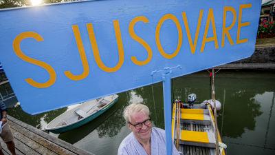 Årets sjusovare Jouni Mutanen slängdes i havet i Nådendal