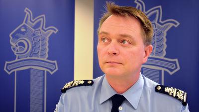 Kari Puolitaival, polischef i Österbotten.
