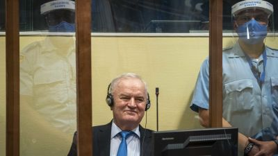 Ratko Mladic i FN-tribunalen i Haag