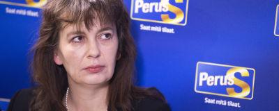 Riikka Slunga-Poutsalo, partisekreterare för Sannfinlndarna