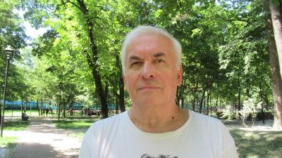 Vladimir Spirjagin, chefredaktör på tidningen Russkij rasklad