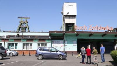En arkivbild från Zofiówka-gruvan i staden Jastrzębie-Zdrój i maj 2018 då gruvan drabbades av ett jordskalv.