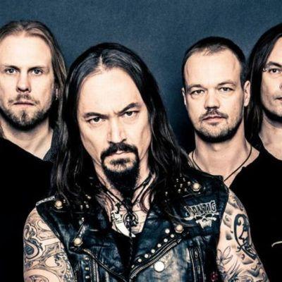 Tomi Joutsen on toiminut Amorphis-yhtyeen keulakuvana kymmenen vuotta.