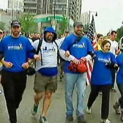 Juoksijat valmistautuivat viimeiselle maratonin mailille Bostonissa 25. toukokuuta.
